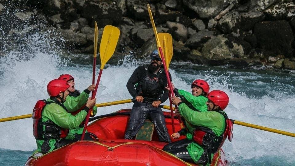 Rafting rio Azul Futaleufu bochinche expediciones fiestas patrias