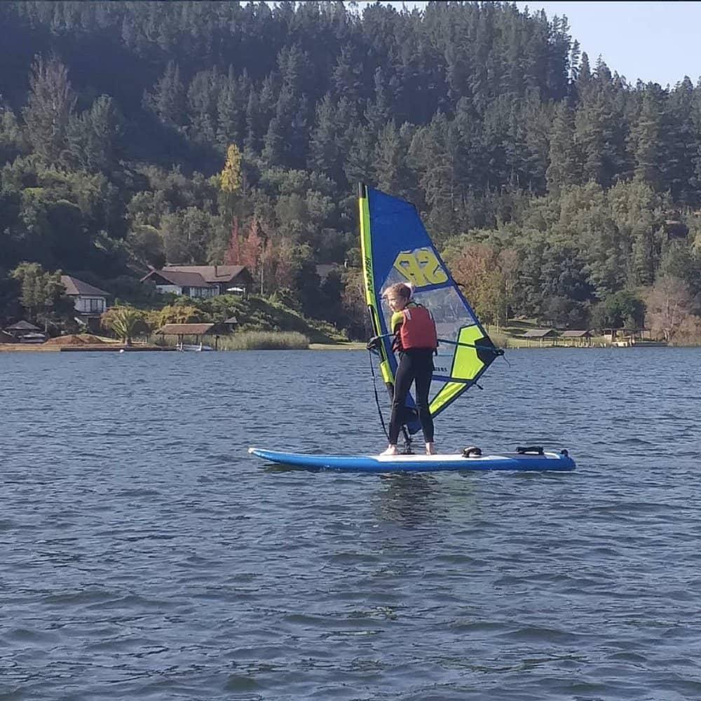 windsurf en vichuquen travesia vichuquen