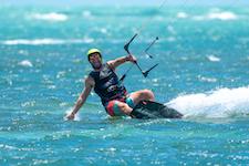 Kitesurfing work life balance