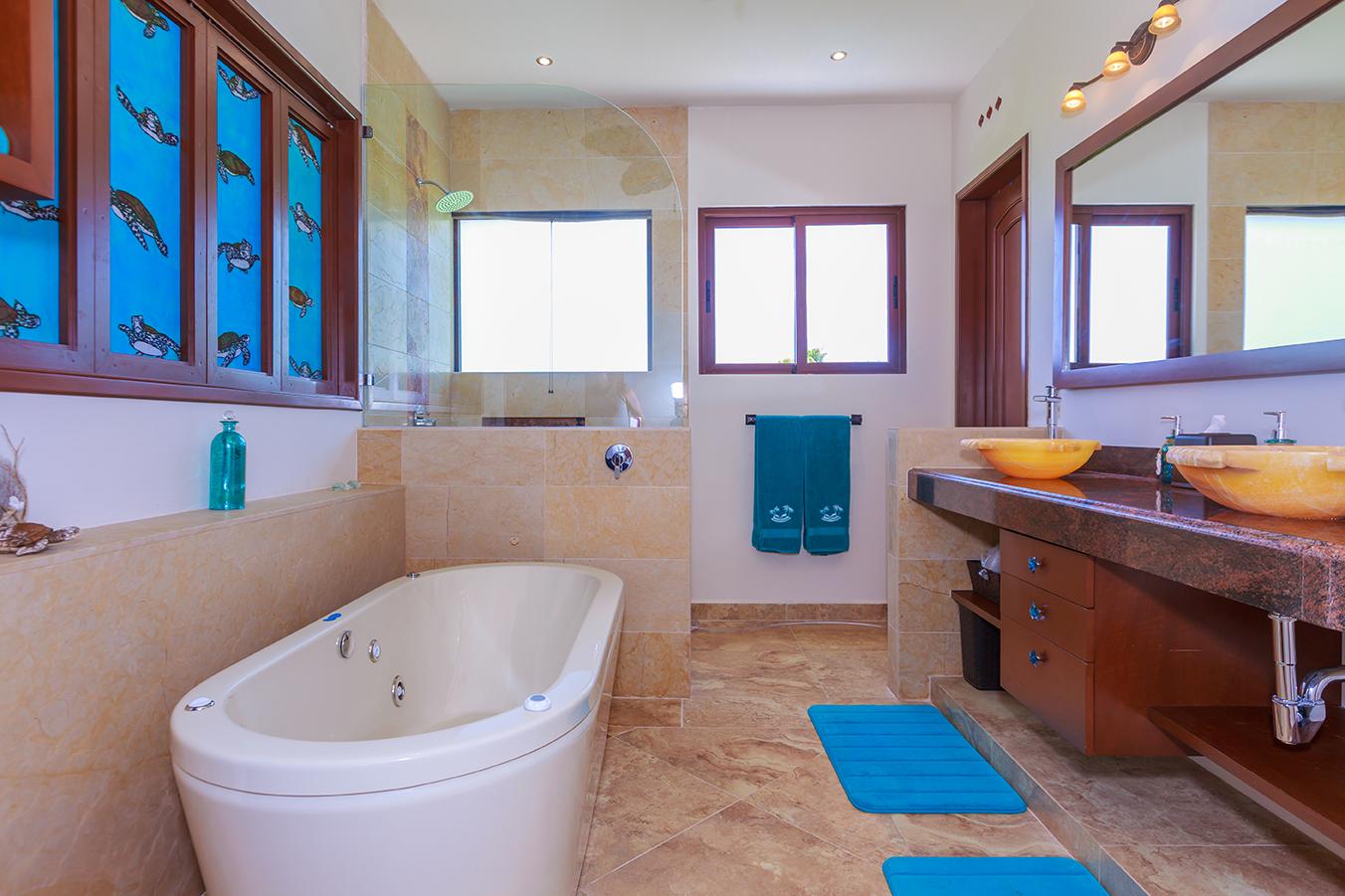 Tortuga Room En-suite Bath