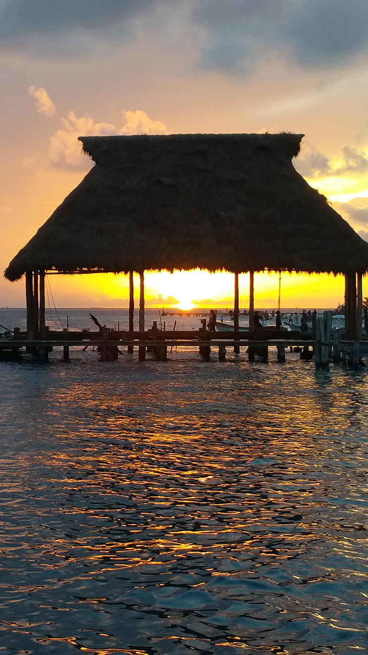 Sunset on Isla