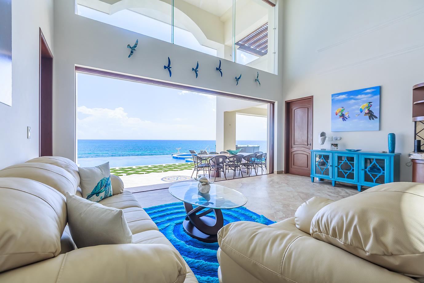 Wide open indoor-outdoor living