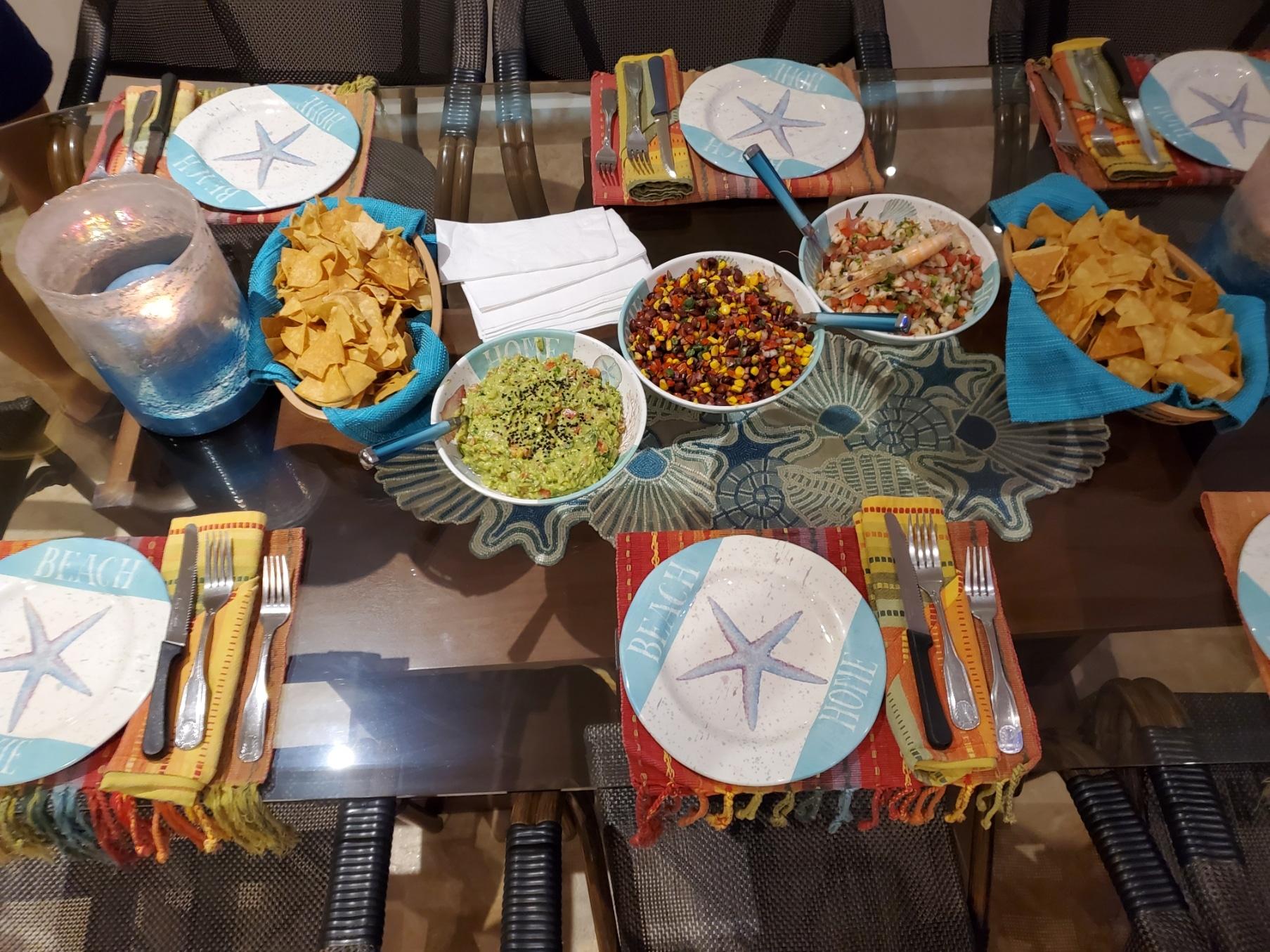 Villa chef available!