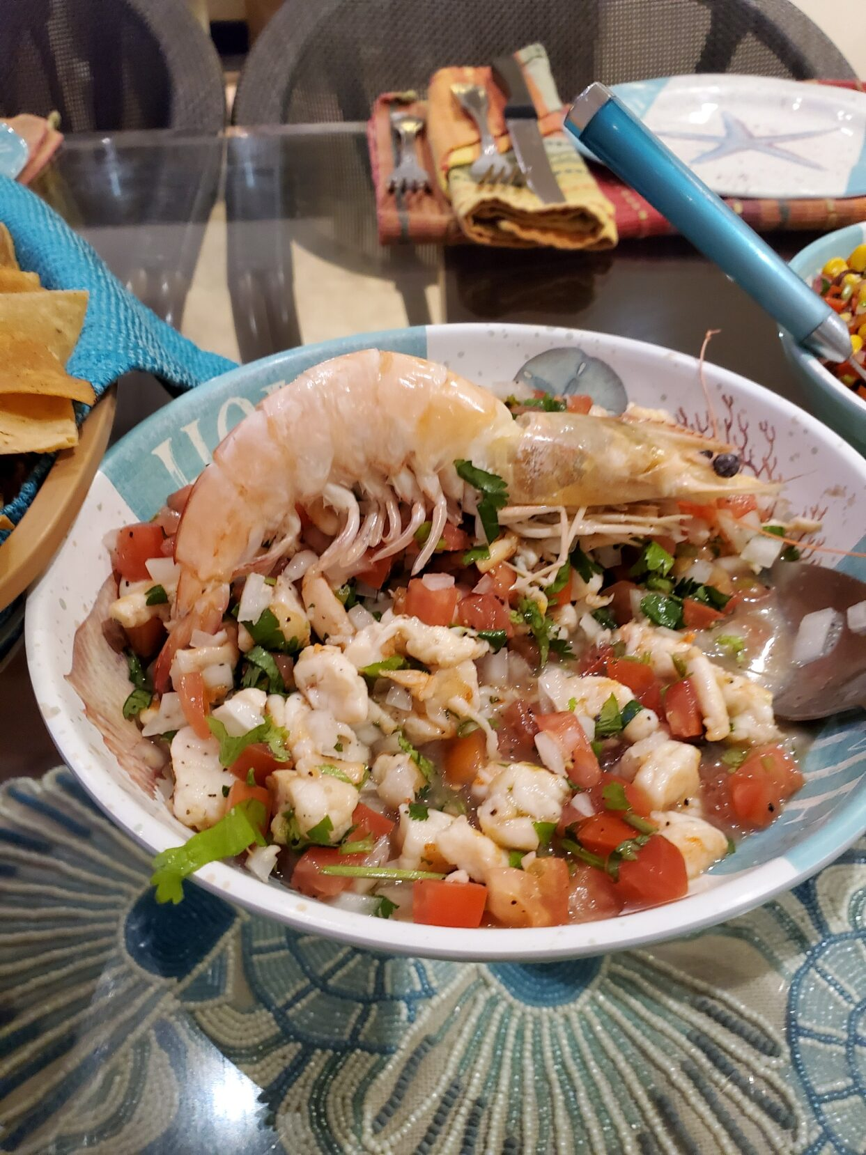 Fresh ceviche made for you!
