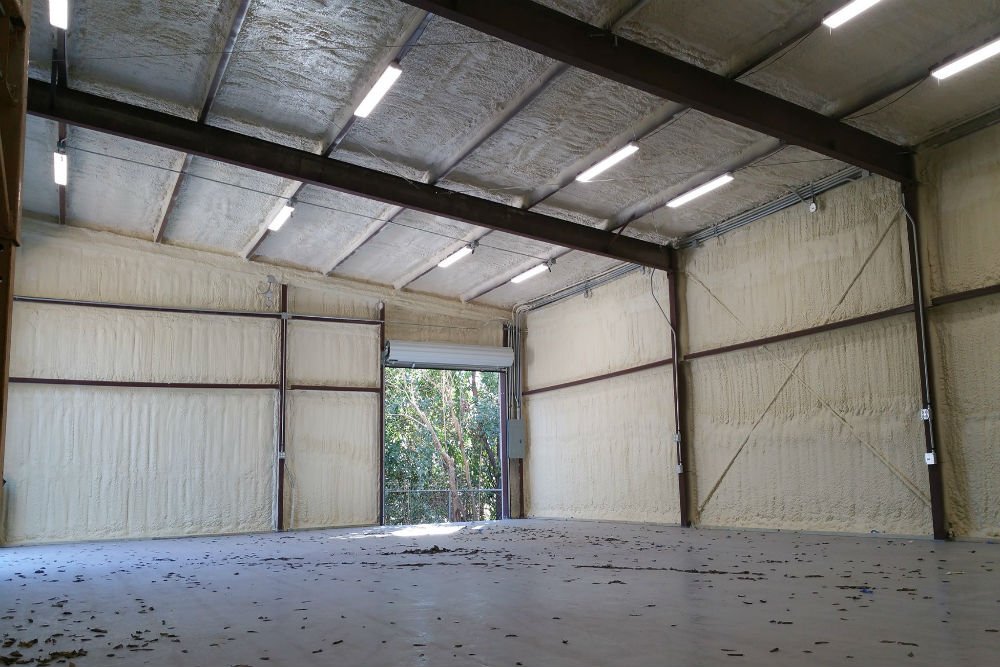 commercial spray foam insulation in austin tx