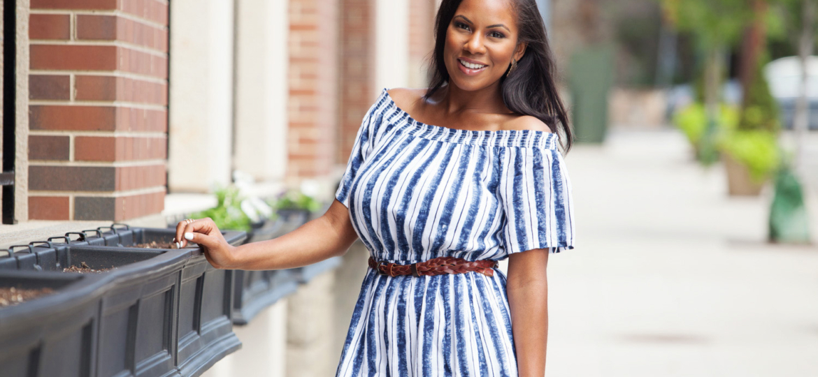 Vanessa Freeman, Vanessa Freeman TV Host, Vanessa Freeman TV, Vanessa Freeman News 12, New York & Company, New York & Company Peasant Dress, NY&Co. How to wear a peasant dress, peasant dresses for busty women, The best peasant dress, fall transitional outfits