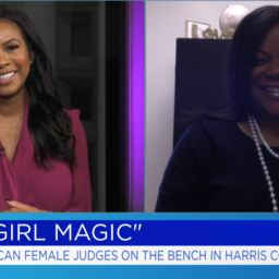 Black Girl Magic, Judge Graves Harrington talks Black Girl Magic, Vanessa Freeman, Vanessa Freeman TV Host, Harris County Judges , Angela Grave Harrington, Judge Angela Graves Harrington, Black History Month, Black History