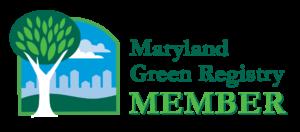 Maryland Green Registry Member badge