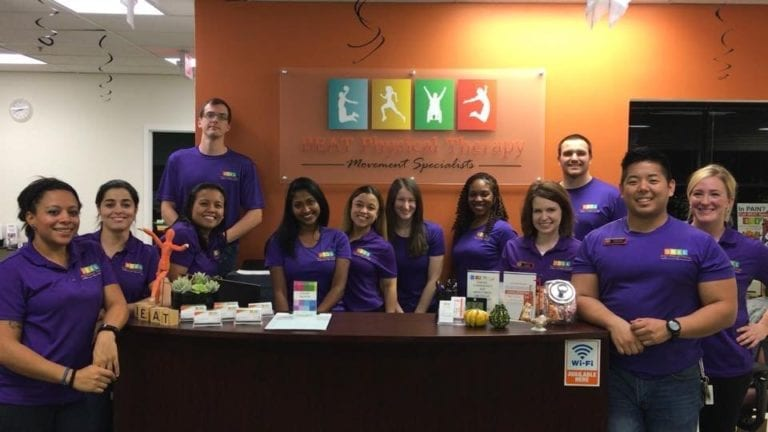 Our physical therapy team in Columbia, MD