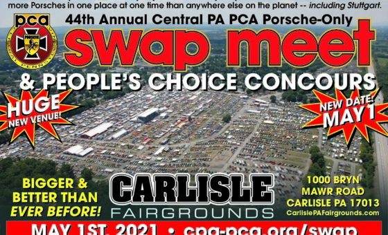 Central PA PCA Porsche-Only Swap Meet & People's Choice Concours