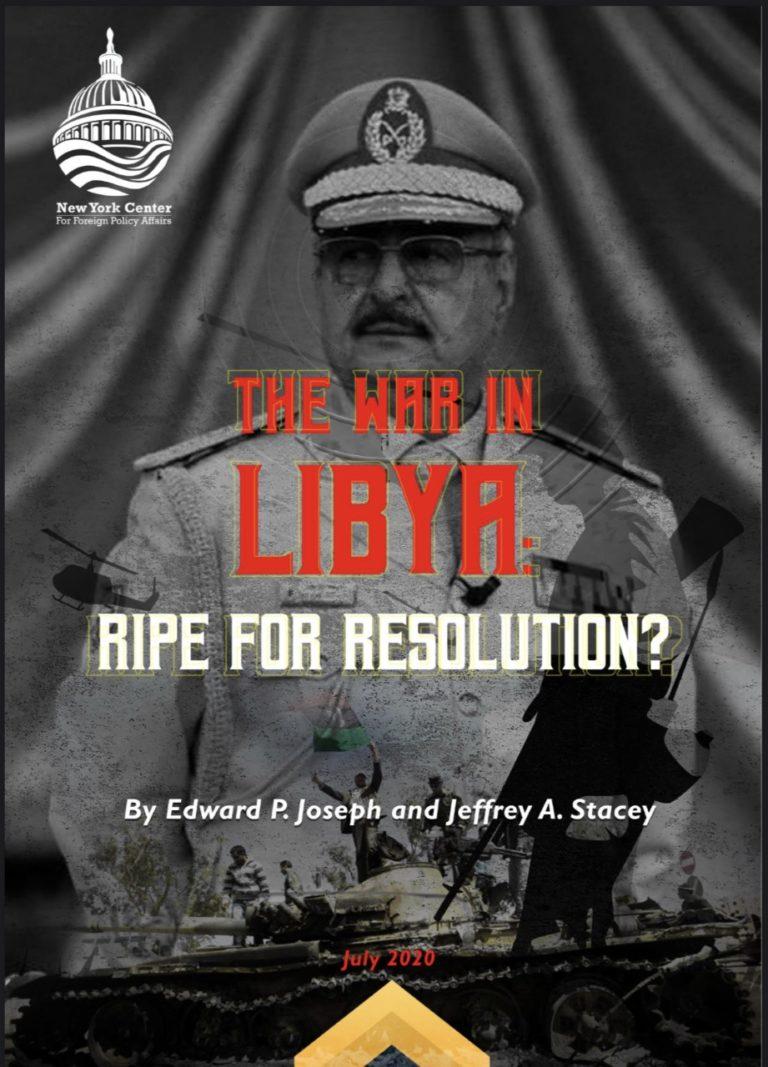 Read the NYCFPA Libya Report