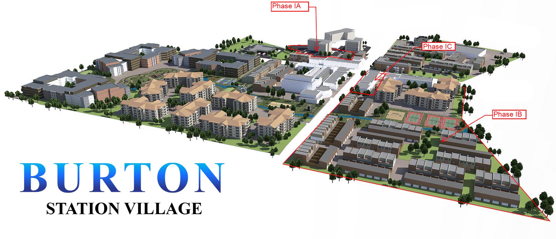 Alpha-OZ-Fund Burton Station Village