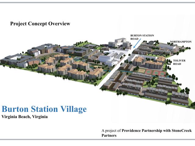 Burton Station Village
