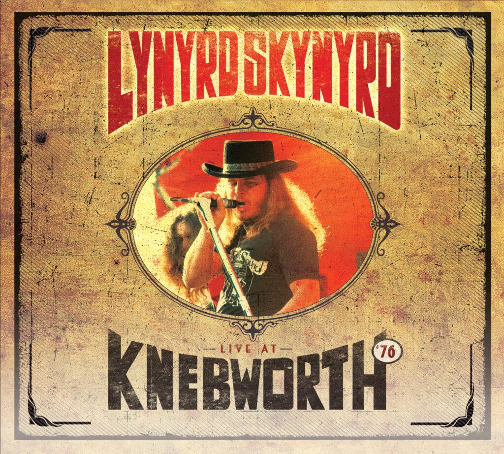 Lynyrd Skynrd Live at Knewworth '76 album cover