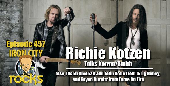 Richie Kotzen and Adrian Smith talk about their new album.