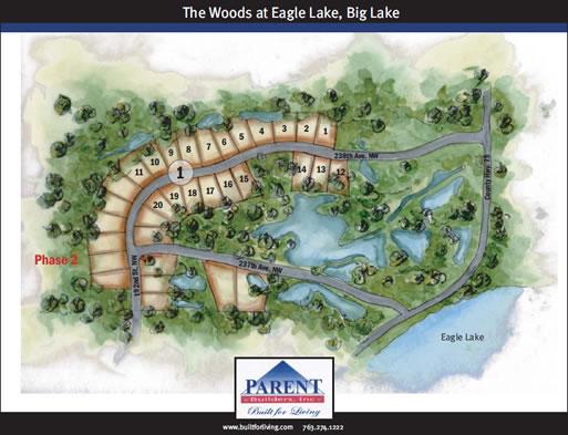 the Woods at Eagle Lake, Big Lake