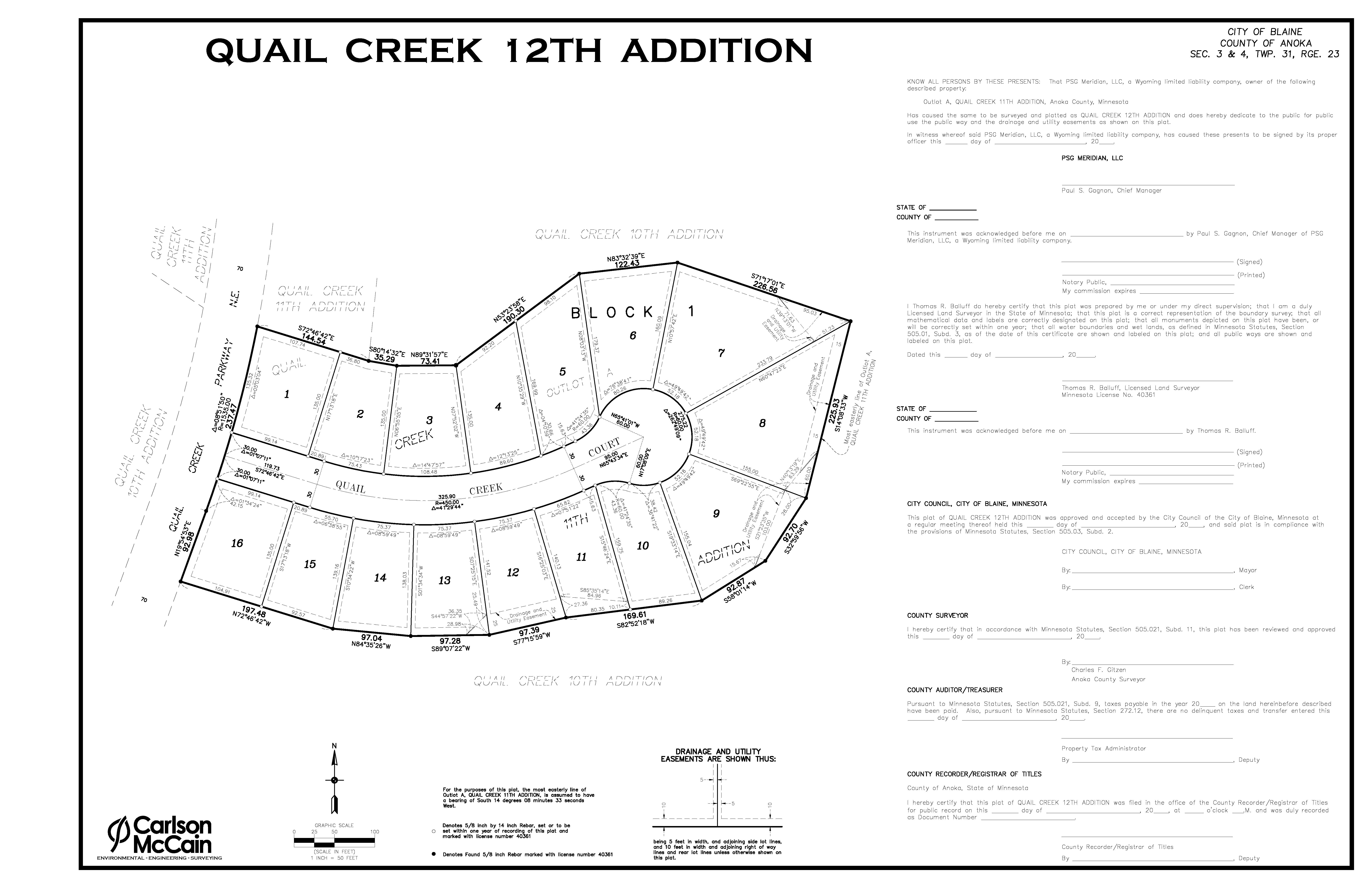 Quail Creek 12th