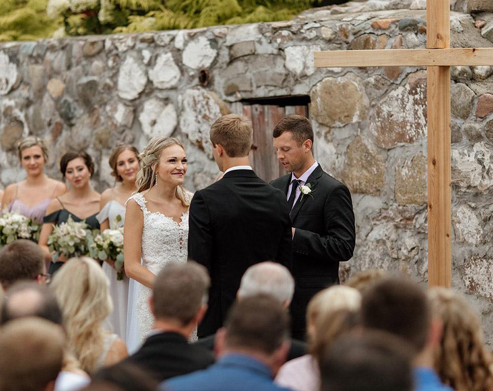 Unique wedding ceremony elements