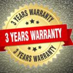 Three Year Limited Warranty