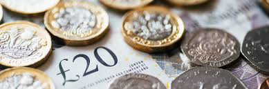 Pound Sterling rises against Dollar and steadies against Euro.