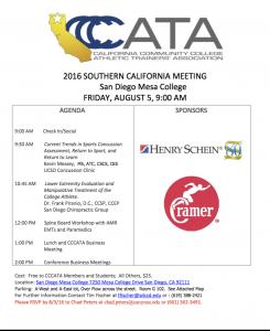 CCCATA Workshop Flyer