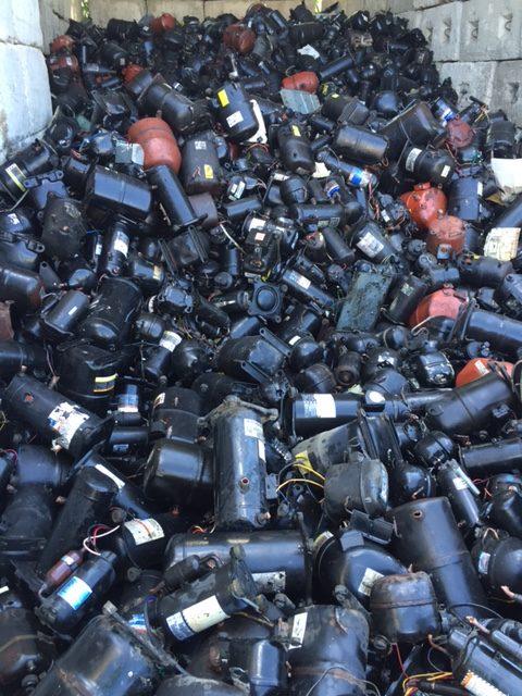pile of sealed units