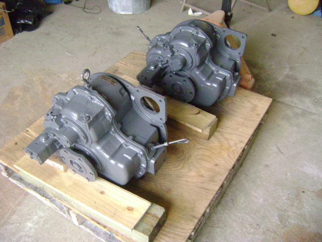 Pair of Twin Disc 507-1 3-1 Marine Transmissions for Sale