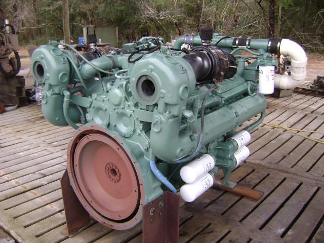 Detroit Diesel 12V92TA marine engine for sale