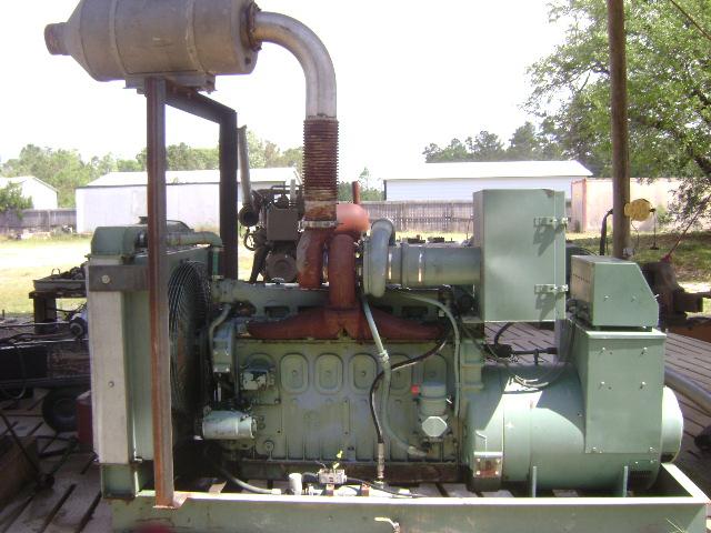 Detroit Diesel 671T 150KW Generator for Sale