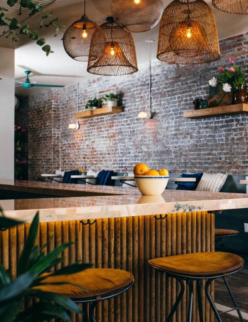 the bar at La Ventura