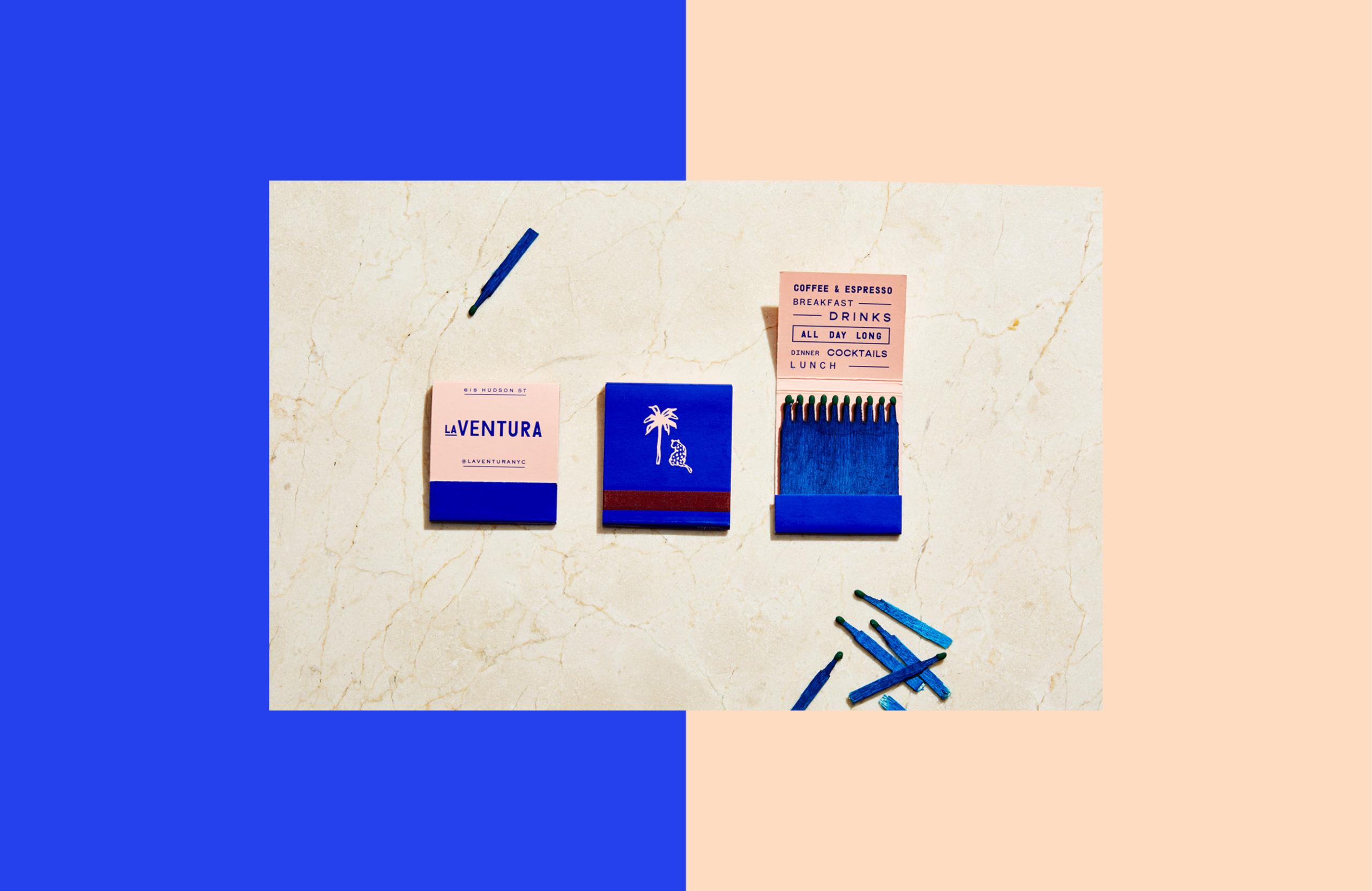 La Ventura matchbooks