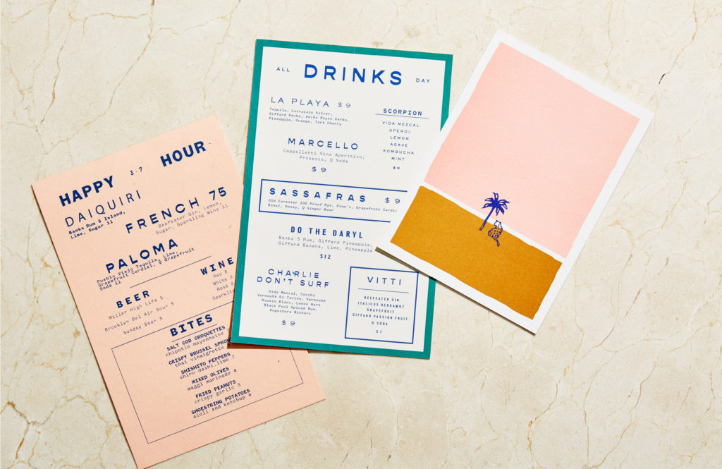 La Ventura menu suite
