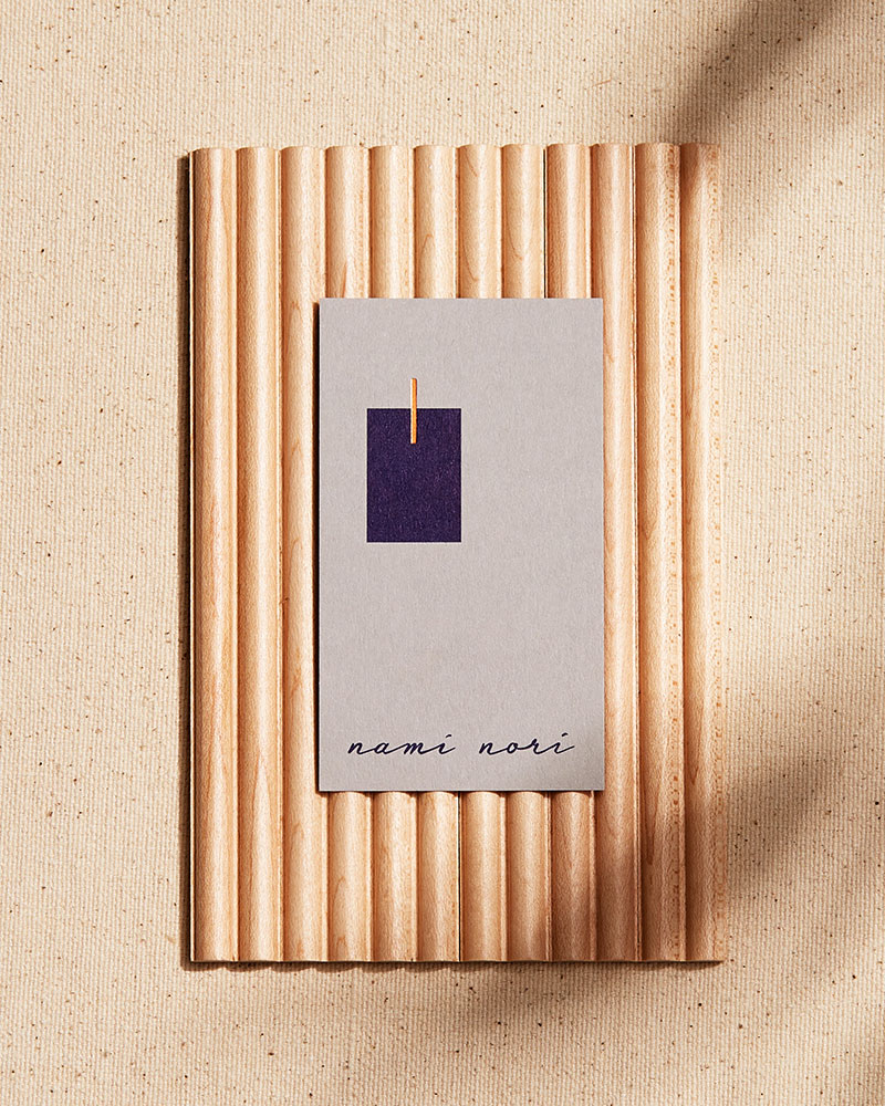 Nami Nori business card