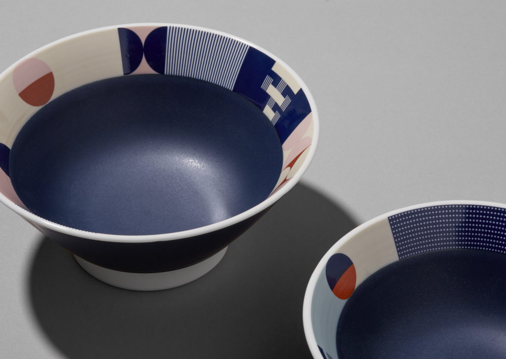 Custom Tonchin ramen bowls
