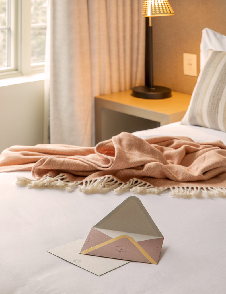 Guest room at The Alida