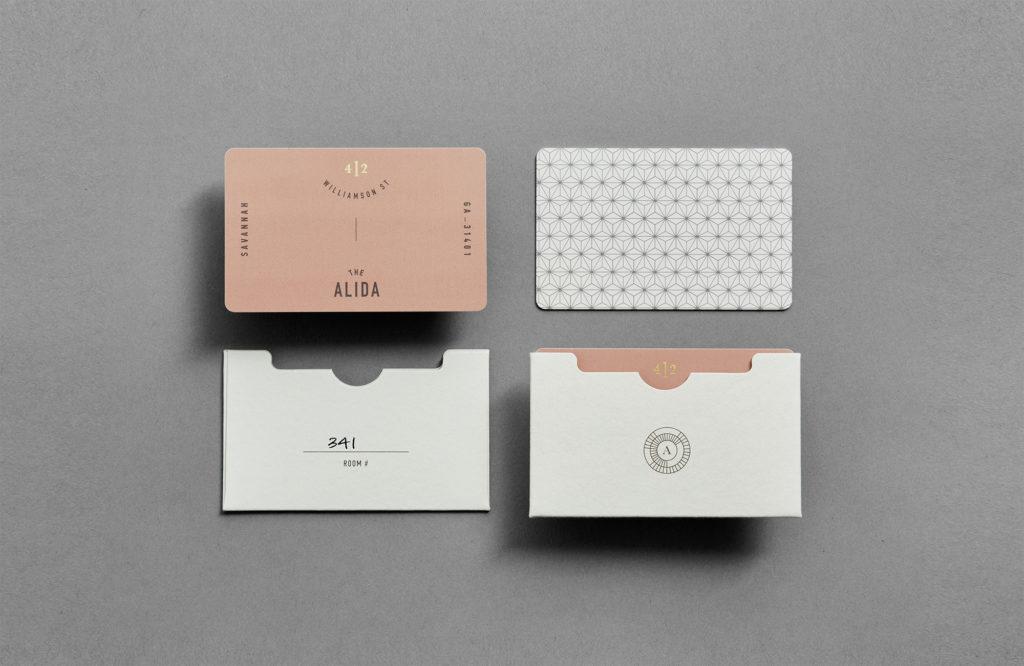 Alida key cards