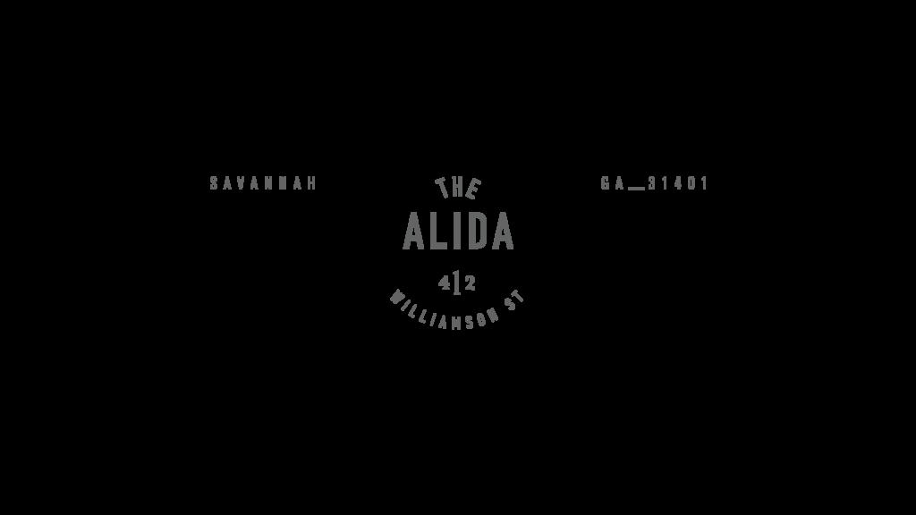 Alida Hotel logo lockup