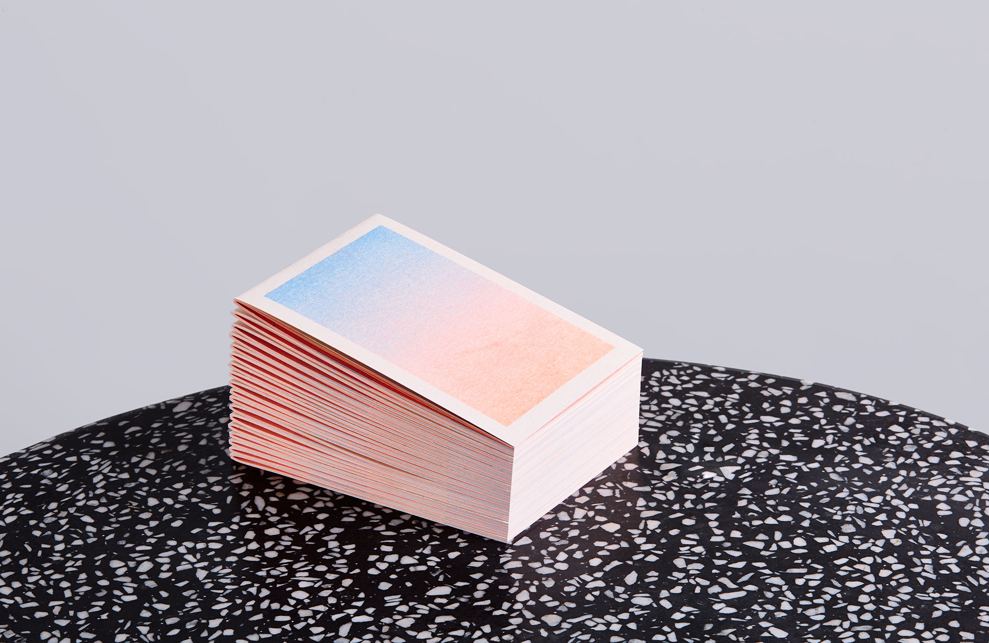 a stack of illustrated risograph booklets