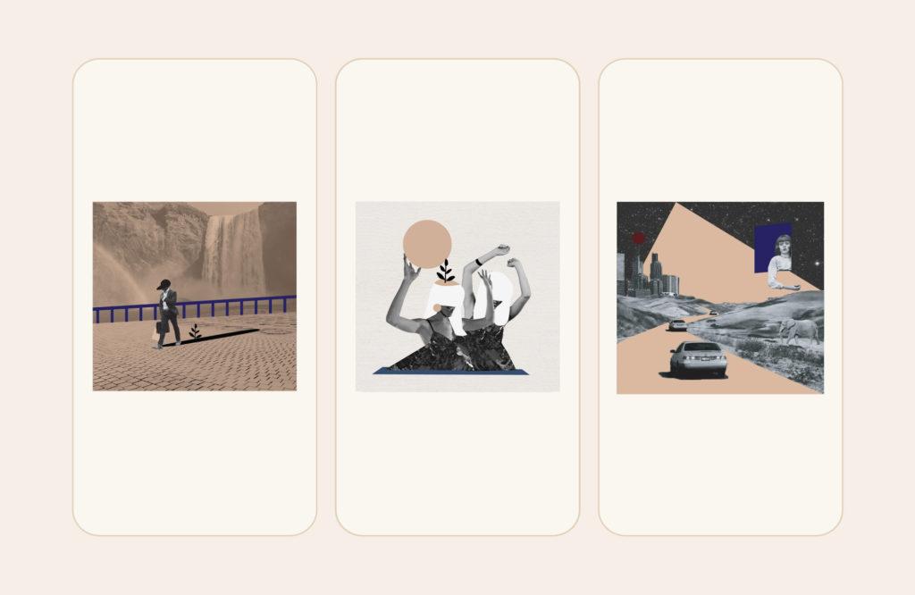 Illustrations for Helbraun Levey social media