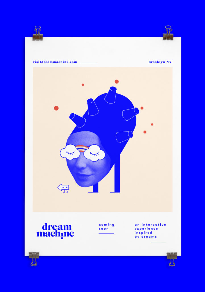 illustrated Dream Machine poster