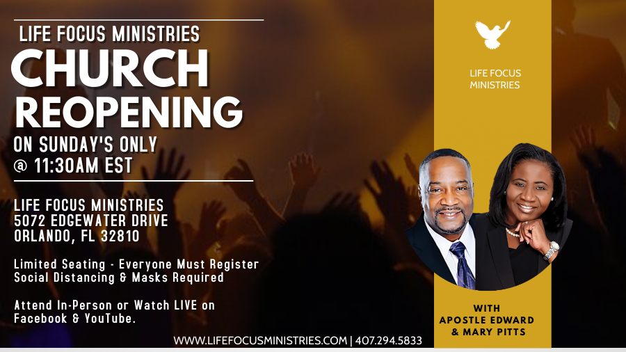 Life Focus Ministries Church Opening