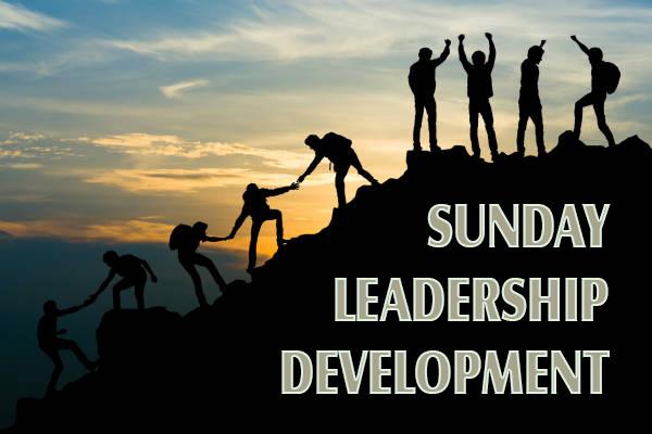 Sunday Leadership Development