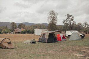 Campsite For Trekking