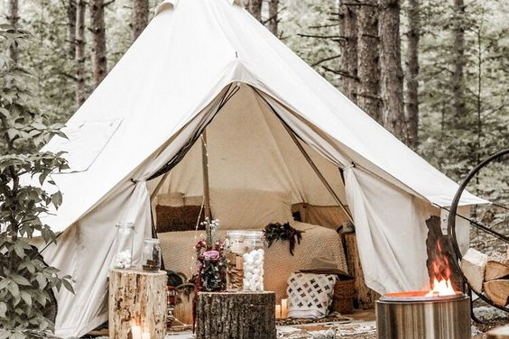 Features of Wall Tents
