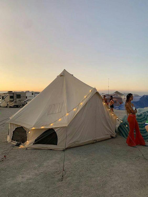 Tent lighting