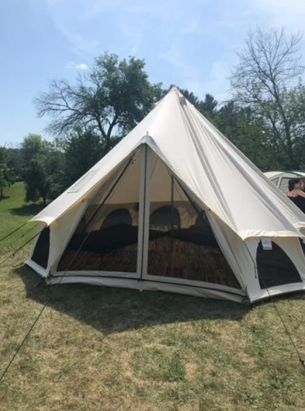 bell tent for camping