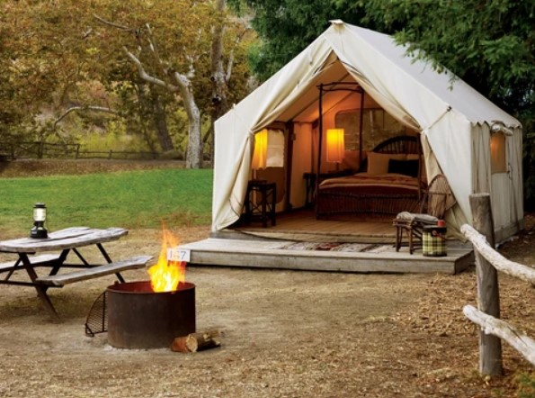 canvas tent have most durable fabric