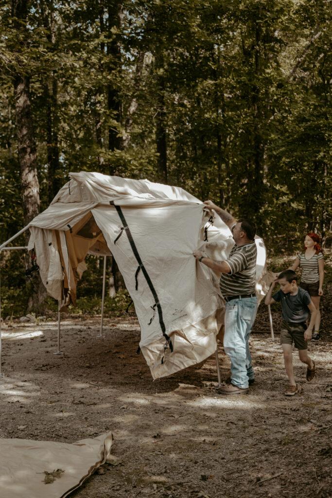 wall tent montana tent