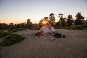 Wall Tent For Evening