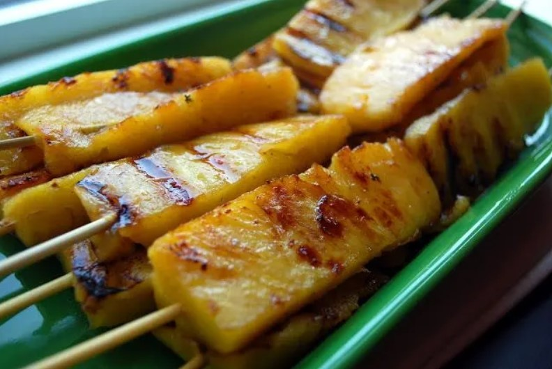 Grilled sweet Pineapple